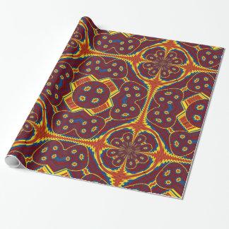Papier Cadeau Motif géométrique