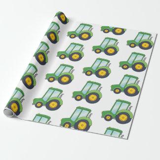 Papier Cadeau Motif mignon de tracteur