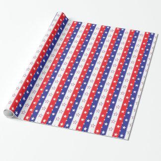 Papier Cadeau Motif patriotique