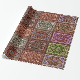 Papier Cadeau Motif persan oriental de couverture
