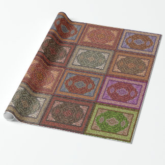 Papier Cadeau Motif persan oriental de couvertures