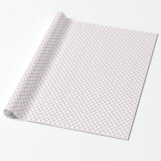 Papier Cadeau Motif rose de Quatrefoil