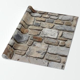 Papier Cadeau Mur fait sur commande de roche