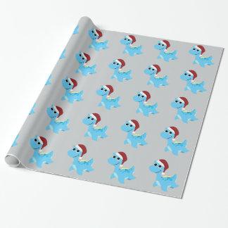 Papier Cadeau Nessie de Père Noël