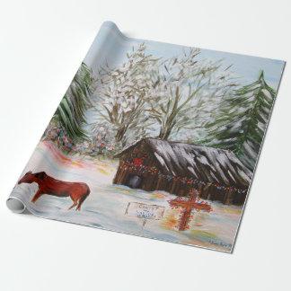 Papier Cadeau Noël à la ferme