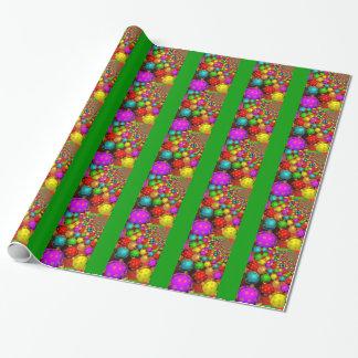 Papier Cadeau Noël coloré