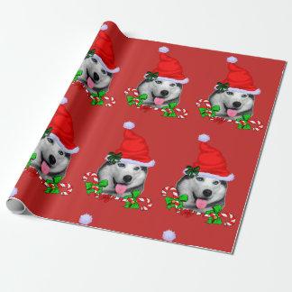 Papier Cadeau Noël de costaud sibérien