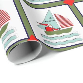 Papier Cadeau Noël de navigation