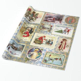 Papier Cadeau Noël vintage
