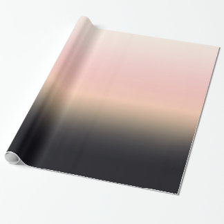 Papier Cadeau Noir assez rouillé pour denteler le gradient Ombre
