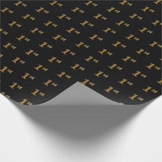 Papier Cadeau Noircissez, papier d'emballage (du premier)