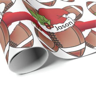 Papier Cadeau Nom unique de Noël | do-it-yourself du football