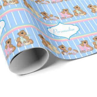 Papier Cadeau Nounours de bébé