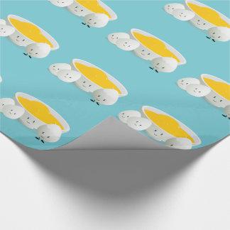 Papier Cadeau Oeufs et papier d'emballage des jaunes d'oeuf |