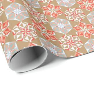 Papier Cadeau Or de cru d'enveloppe de cadeau de fleur d'origami