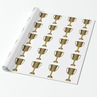 Papier Cadeau OR DE TROPHÉE : Succès commercial, concurrence,