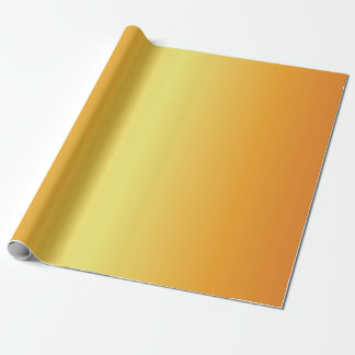 Papier Cadeau Or métallique lumineux Bells
