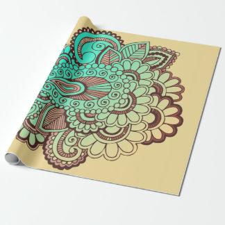 Papier Cadeau Paisley ornemente I + votre backgr. et idées