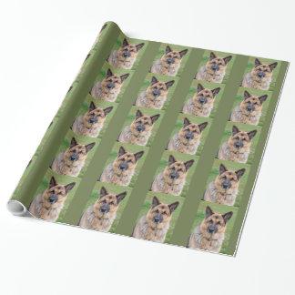 Papier Cadeau Papier brillant d'emballage cadeau de chien de