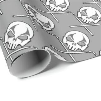 Papier Cadeau Papier de métaux lourds de cadeau de batteur de