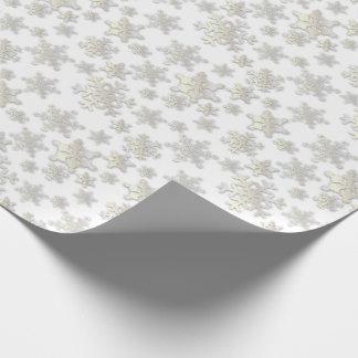 Papier Cadeau Papier de Ombre-Emballage de baisse de flocons de