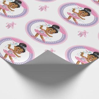 """Papier Cadeau Papier d'emballage 30"""" de ballerine"""