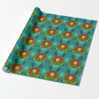 """Papier Cadeau Papier d'emballage 30"""" de Blanketflower x 6'"""