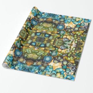 Papier Cadeau Papier d'emballage abstrait de bord de la mer
