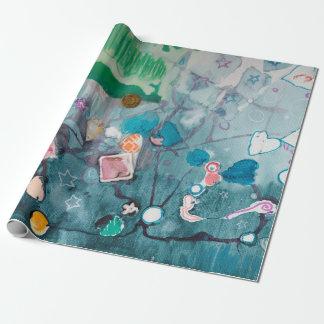 Papier Cadeau Papier d'emballage B 2015 de laboratoire d'art de
