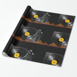 Papier Cadeau Papier d'emballage brillant de plaque tournante