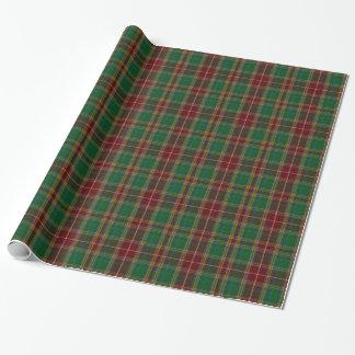 Papier Cadeau Papier d'emballage classique de plaid de tartan de