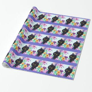 Papier Cadeau Papier d'emballage Creationarts de libellule