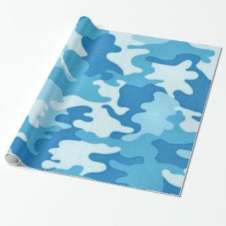 Papier Cadeau Papier d'emballage d'amusement de motif de Camo
