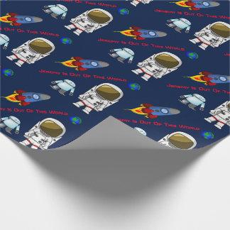 Papier Cadeau Papier d'emballage d'anniversaire fait sur
