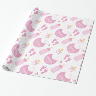 Papier Cadeau papier d'emballage de baby shower de bébé