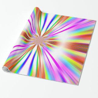 Papier Cadeau Papier d'emballage de bourdonnement de chrome