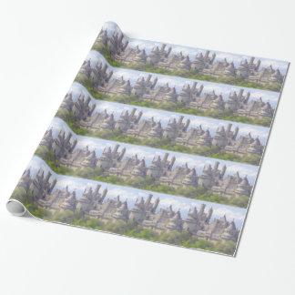 Papier Cadeau Papier d'emballage de Camelot