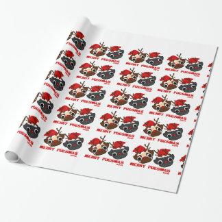 Papier Cadeau Papier d'emballage de carlin