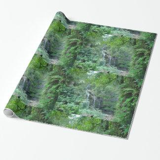 Papier Cadeau Papier d'emballage de cascade hawaïenne