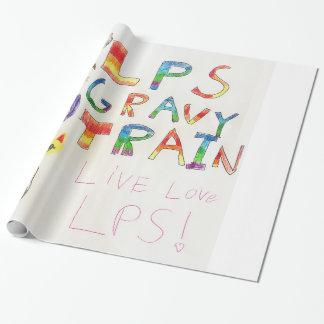 Papier Cadeau Papier d'emballage de célébration de bonne planque