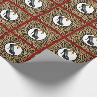 Papier Cadeau Papier d'emballage de chaussure d'impression