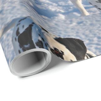 Papier Cadeau Papier d'emballage de chien dalmatien