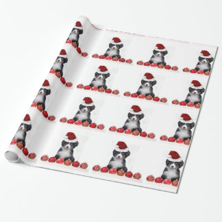 Papier Cadeau Papier d'emballage de chien de montagne de Bernese