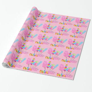 Papier Cadeau Papier d'emballage de cirque de sucrerie