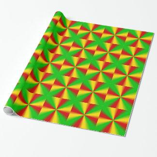 Papier Cadeau Papier d'emballage de conception de Rasta