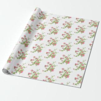 Papier Cadeau Papier d'emballage de faveur de mariage de Boho