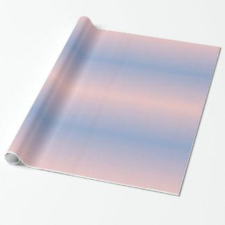 Papier Cadeau Papier d'emballage de gradients de sérénité de