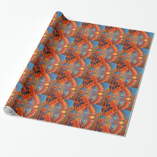 Papier Cadeau Papier d'emballage de gueule de bois de mardi gras