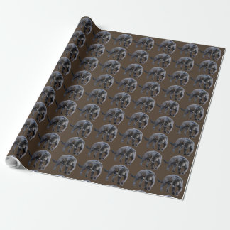 Papier Cadeau Papier d'emballage de Jaguar Diablo Brown