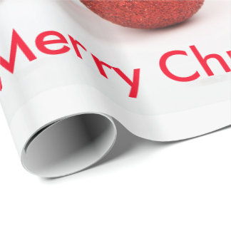 Papier Cadeau Papier d'emballage de Joyeux Noël de chien de